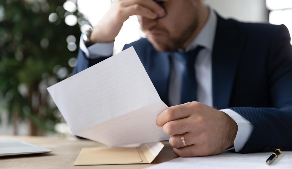 frustrated business man, general liability insurance program